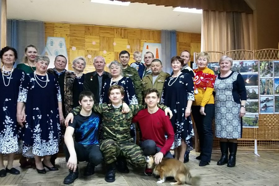 Мероприятие, посвященное Дню защитника отечества в п.Прогресс